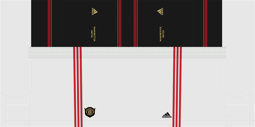 Manchester United Home Shorts Kits Manchester United 2019 2020 Updated
