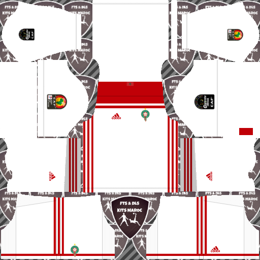 Morocco Away Kits DLS Morocco Kits 038 Logos 2019 2020