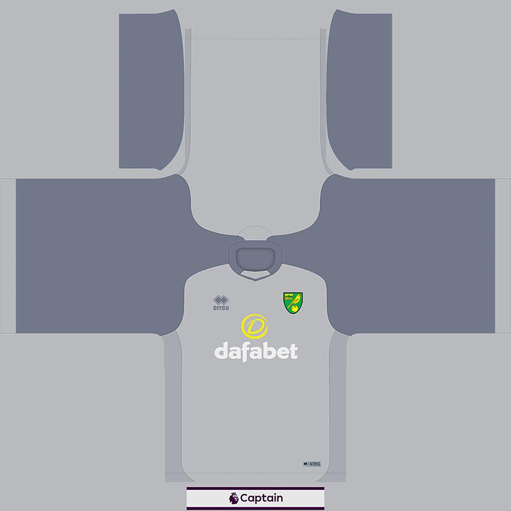 Norwich Shirt GK Kits 8211 Norwich 8211 19 20 RX3 GK Kits Added