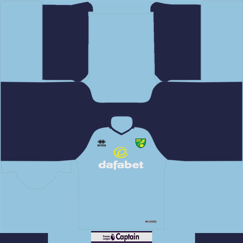 Norwich Shirt GK2 Kits 8211 Norwich 8211 19 20 RX3 GK Kits Added