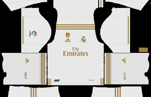 brand new 4793f 48bc2 DLS | Real Madrid Kits & Logos | 2019/2020 – DLS Kits – FIFAMoro
