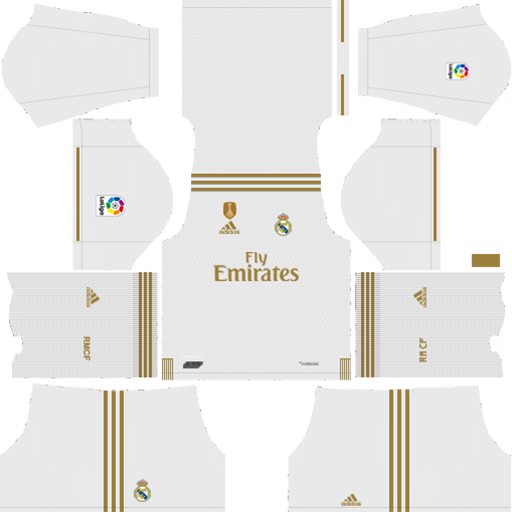 Real Madrid 2019 20 Home Kit DLS 19 Kits Dream League Soccer 1 DLS Real Madrid Kits 038 Logos 2019 2020