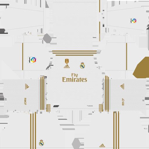 Real Madrid 2019 20 Home Kit DLS 19 Kits Dream League Soccer 1 DLS Kits 038 Logos