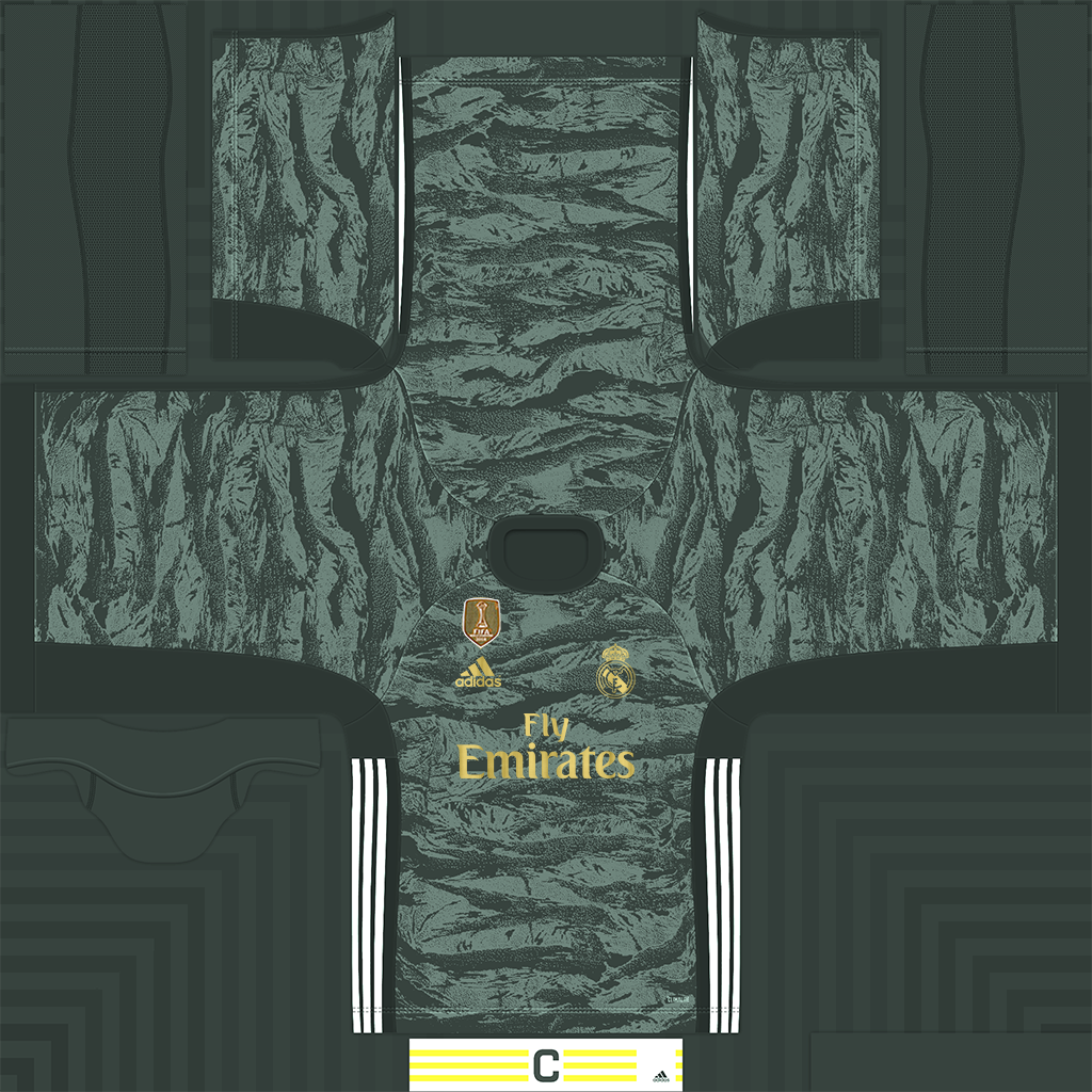 Real Madrid Away Goalkeeper Kit Kits 8211 Real Madrid 8211 19 20 CMP Files Rosters Added