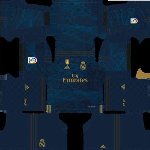 Real Madrid Away Kit 2019 20 DLS 19 Kits 1 DLS Real Madrid Kits 038 Logos 2019 2020