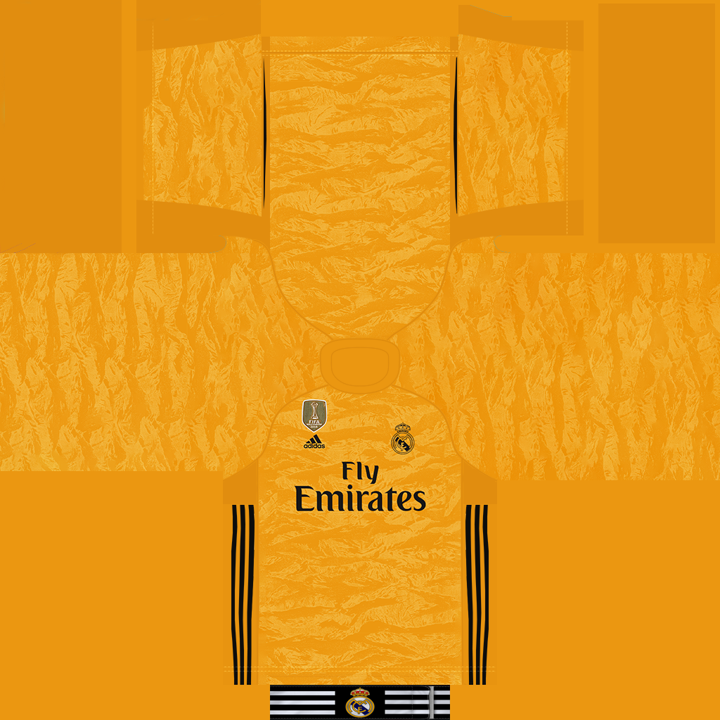 Real Madrid Home Goalkeeper Kit Kits 8211 Real Madrid 8211 19 20 CMP Files Rosters Added