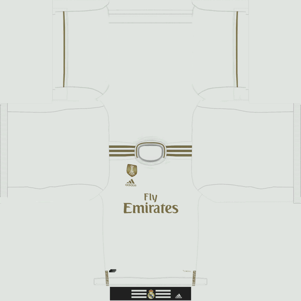 Kits – Real Madrid – 19/20 (CMP Files Rosters Added)