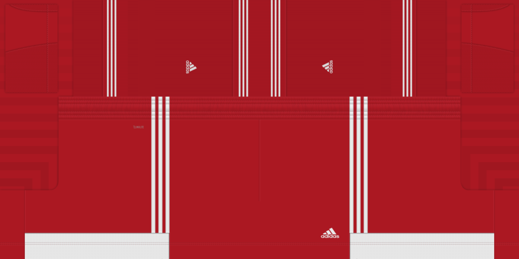 Red White Shorts 1 1024x512 Kits Adidas Tiro 19
