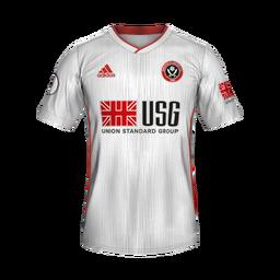 Sheffield United Away Minikit Kits Sheffield United 2019 2020 Updated