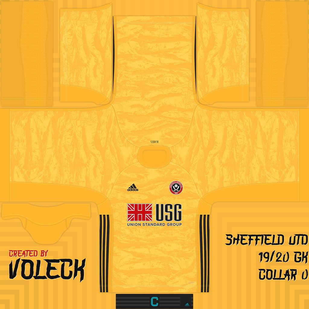 Sheffield United Goalkeeper Kits Sheffield United 2019 2020 Updated