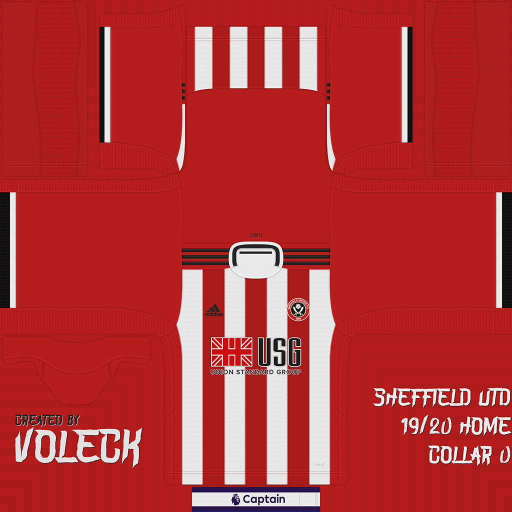 Kits | Sheffield United | 2019/2020 (Updated)