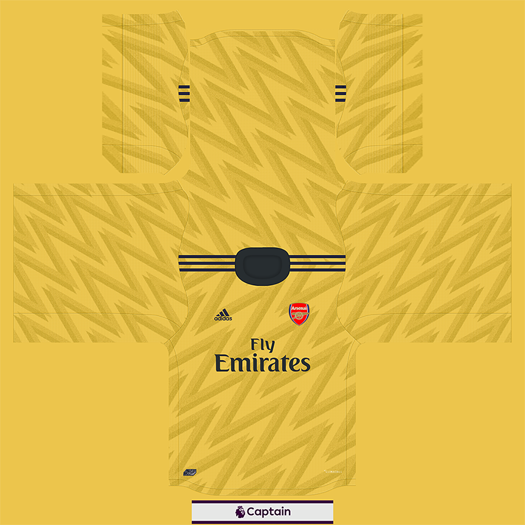 Shirt Away 9 Kits Arsenal 2019 2020 RX3 Added
