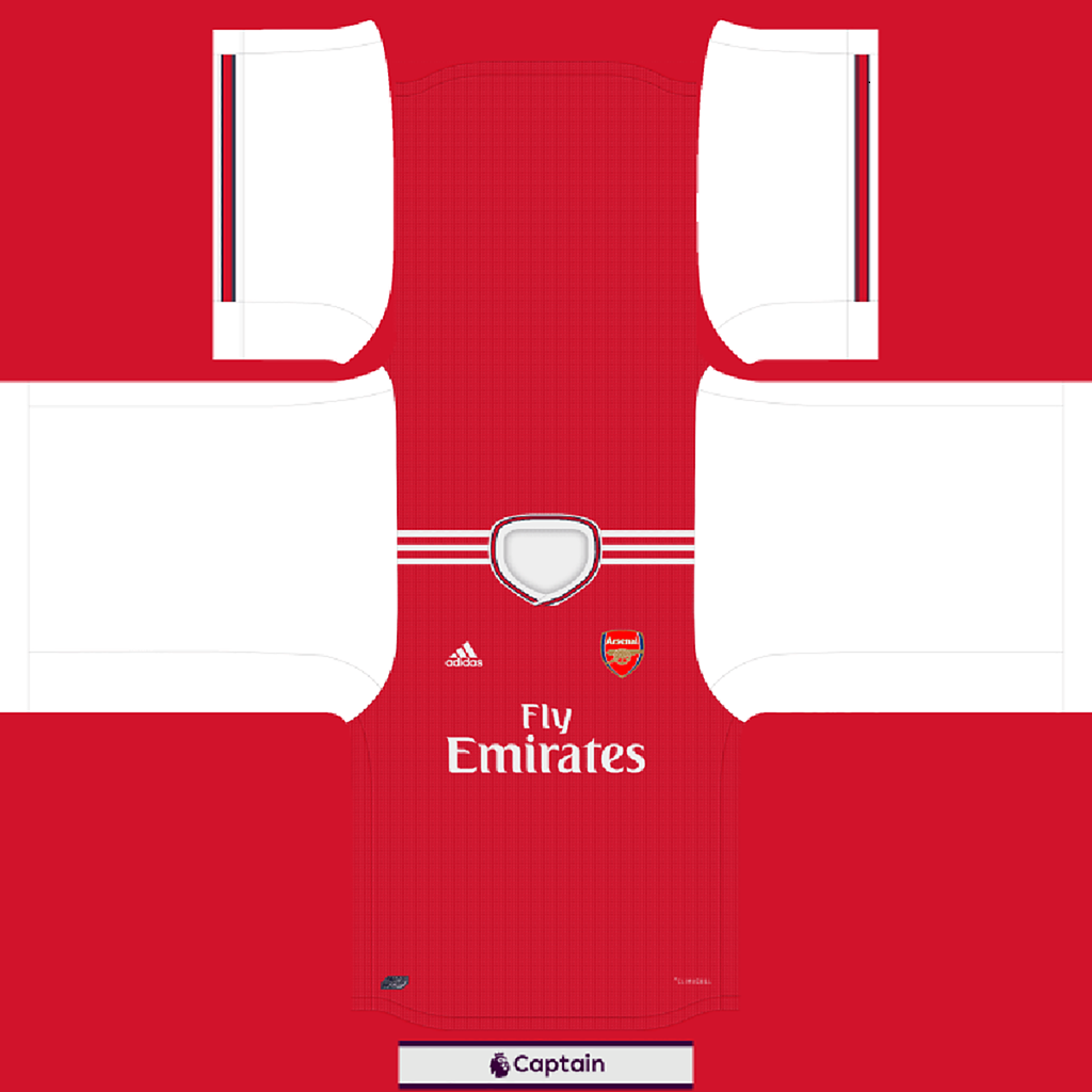 Shirt Home 2 1 Kits Arsenal 2019 2020 RX3 Added