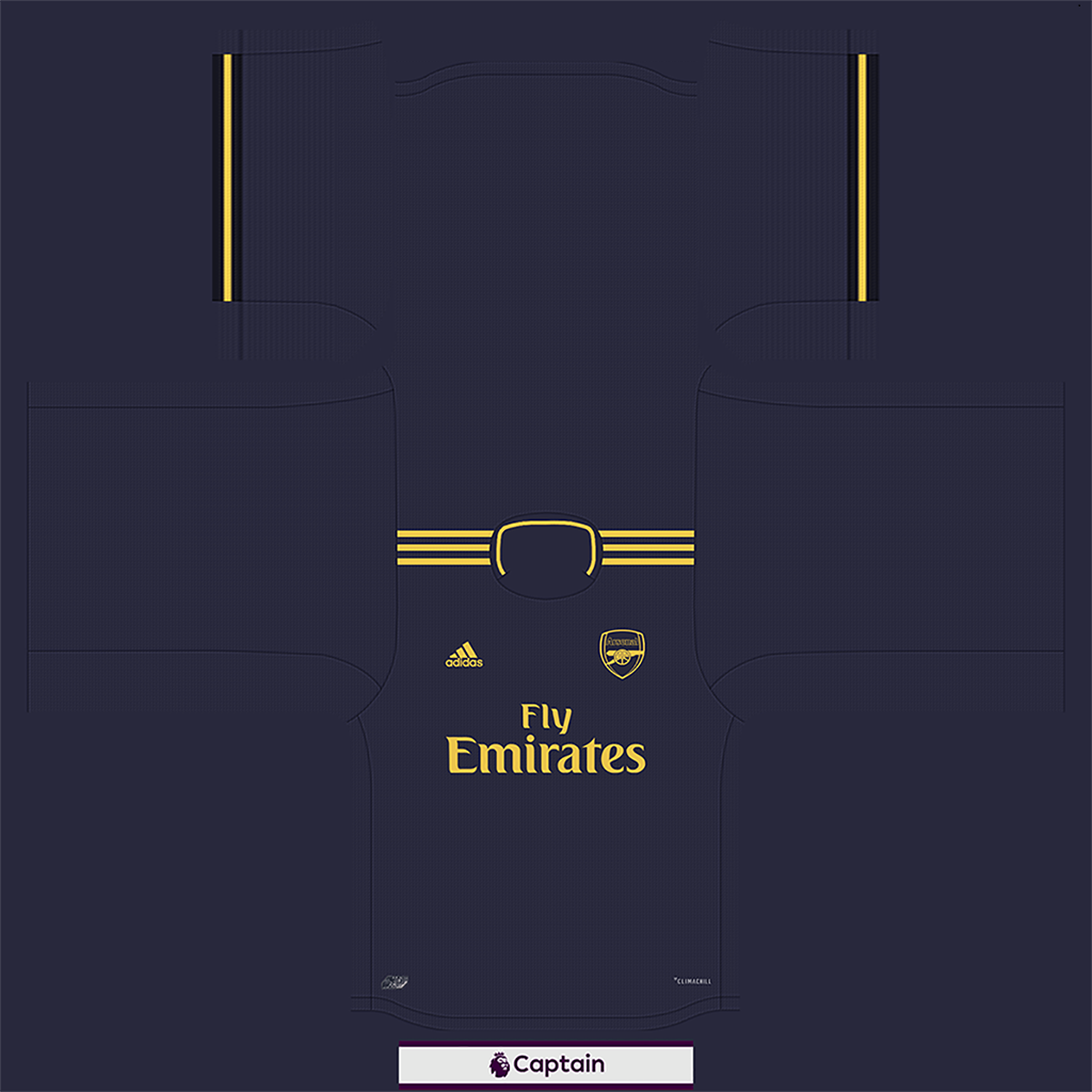 Shirt Third 6 Kits Arsenal 2019 2020 RX3 Added