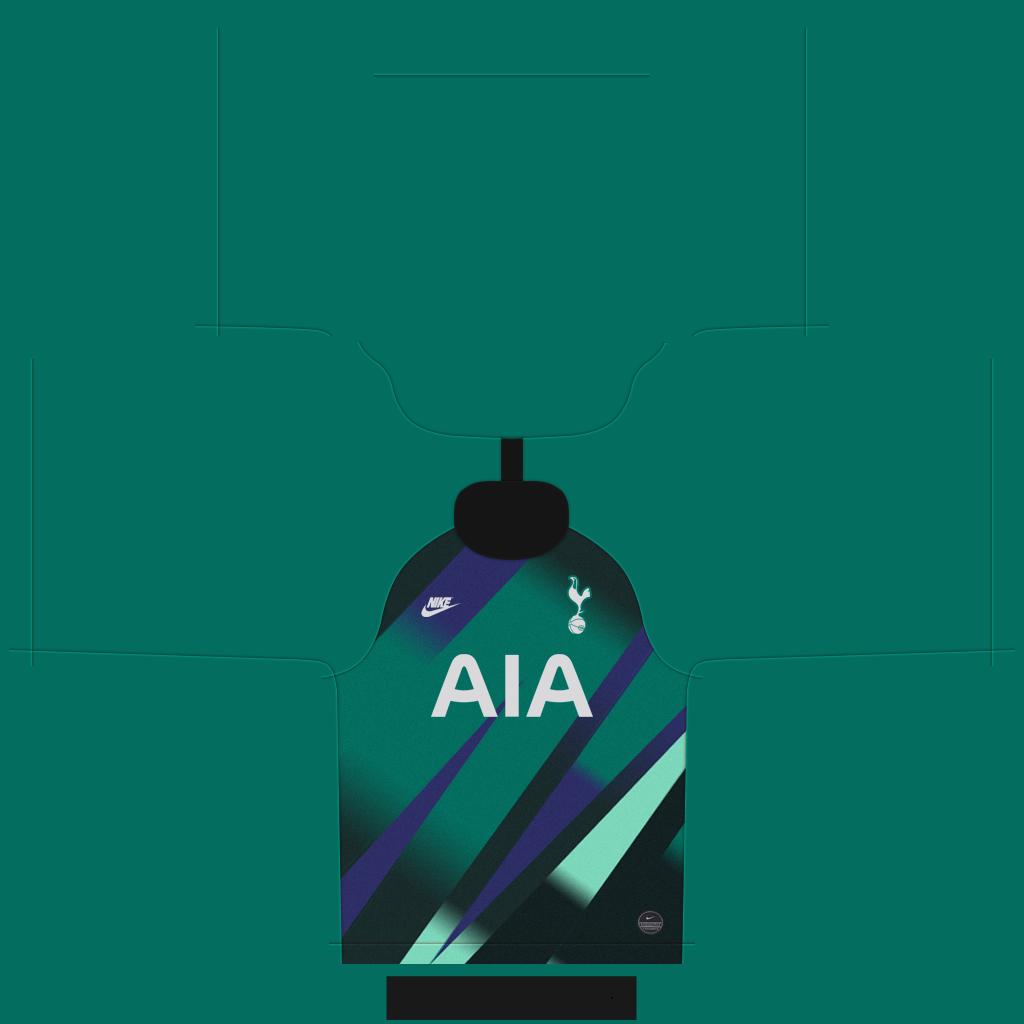 Tottenham GK Thid Kit Kits Tottenham 2019 2020 RX3 Added