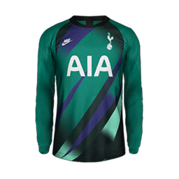 Tottenham GK Thid MiniKit Kits Tottenham 2019 2020 RX3 Added