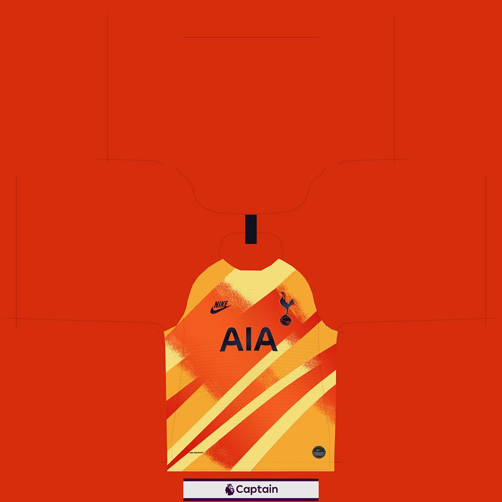 Tottenham Shirt Third GK Kits Tottenham 2019 2020 RX3 Added