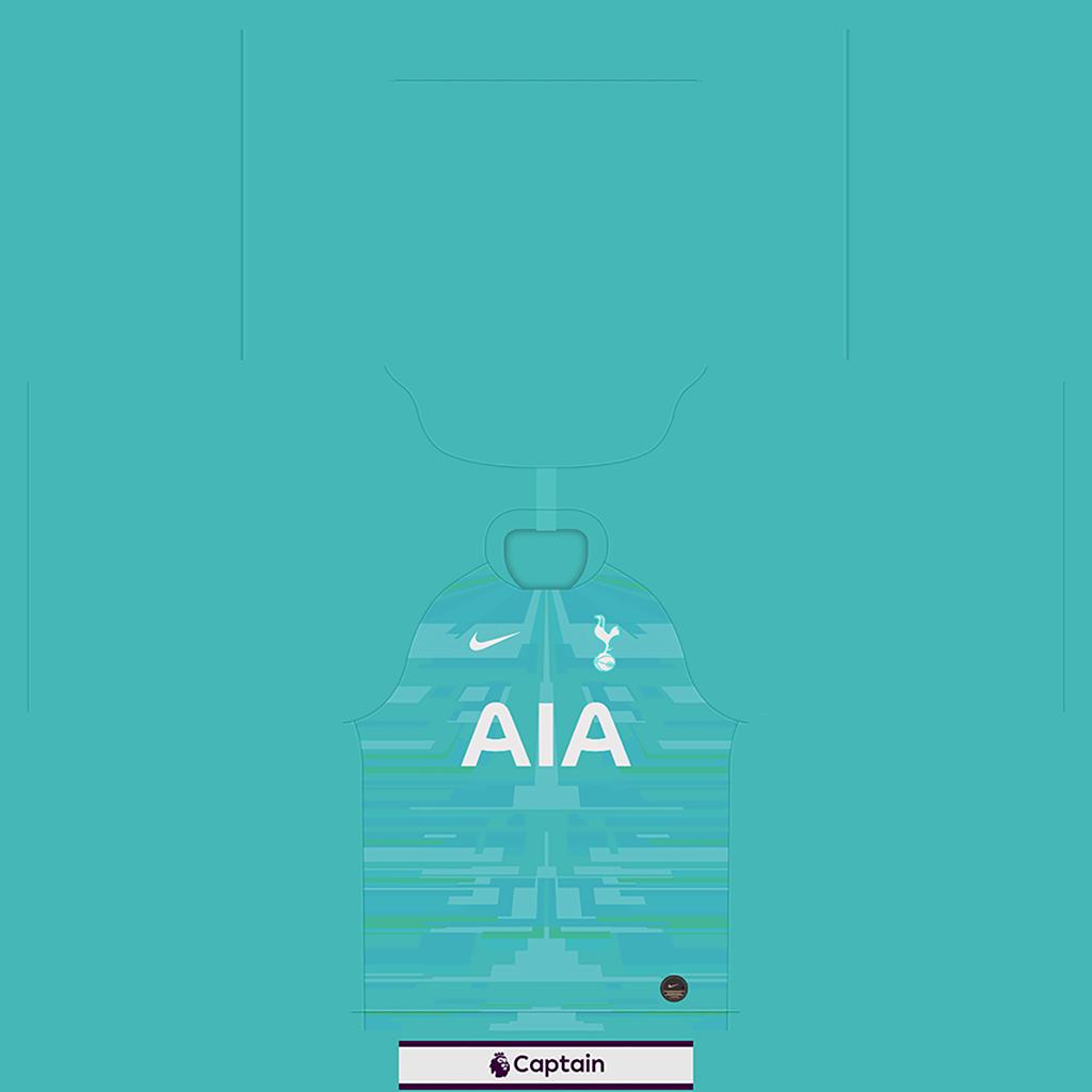Tottenham Shirt GK Kits Tottenham 2019 2020 RX3 Added