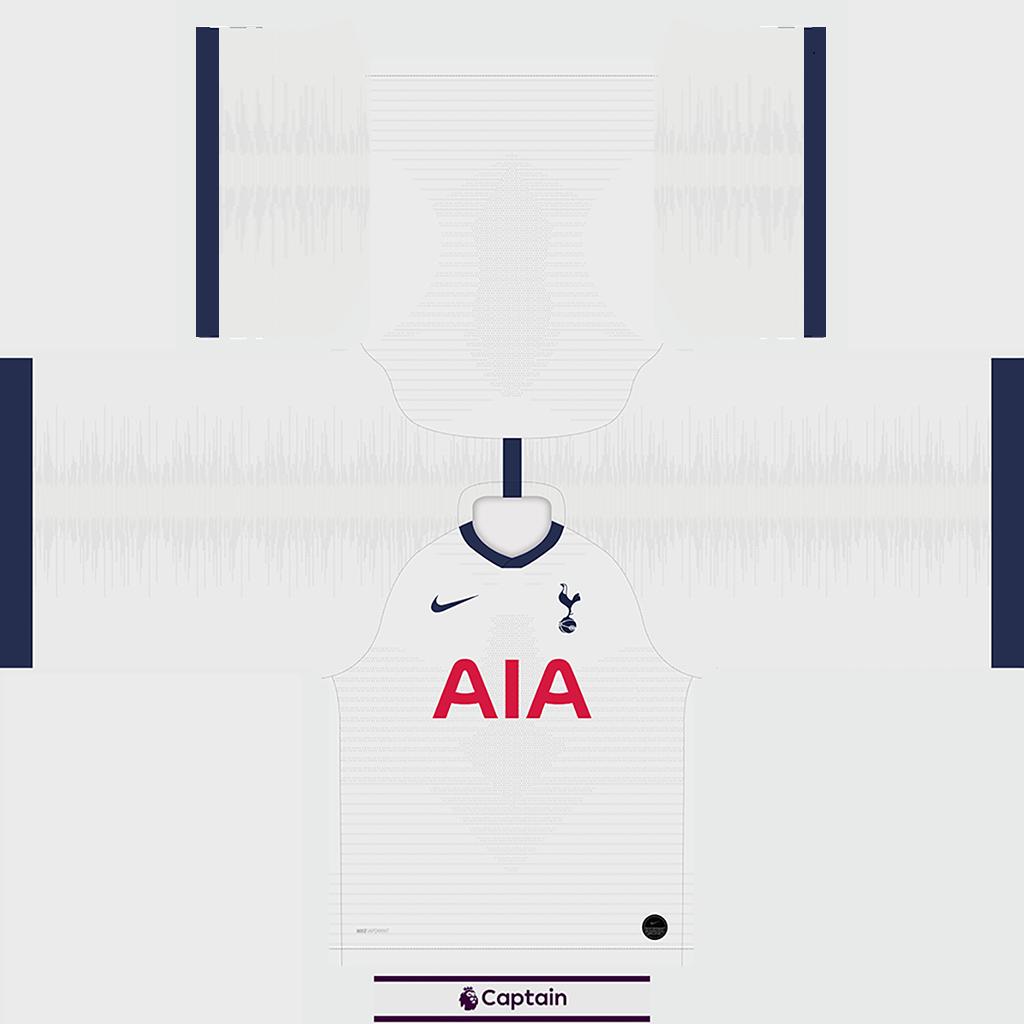 Tottenham Shirt Home Kits Tottenham 2019 2020 RX3 Added