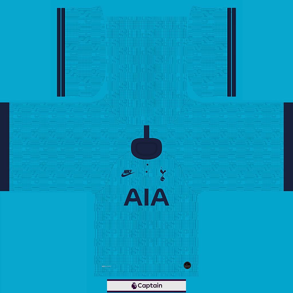 Tottenham Shirt Third Kits Tottenham 2019 2020 RX3 Added
