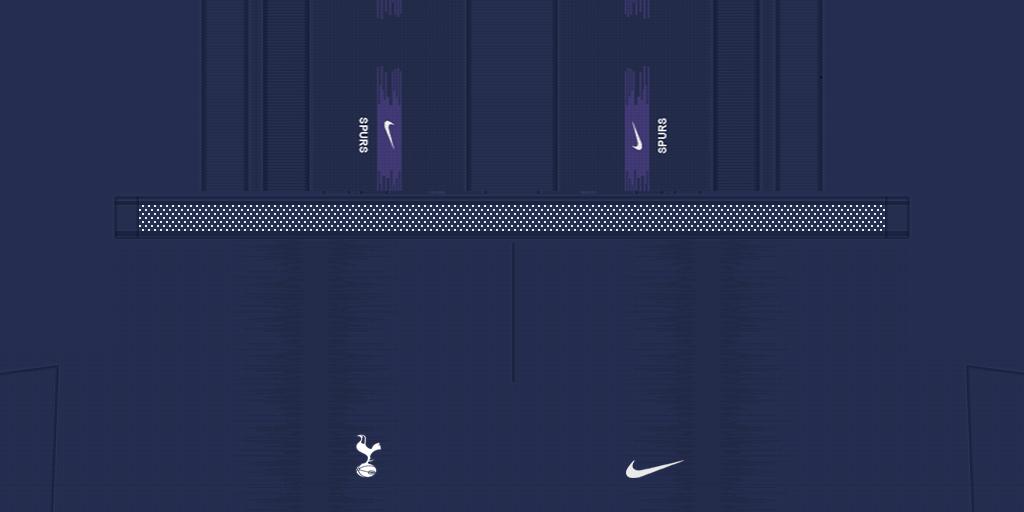 Tottenham Shorts Away 1024x512 Kits Tottenham 2019 2020 RX3 Added