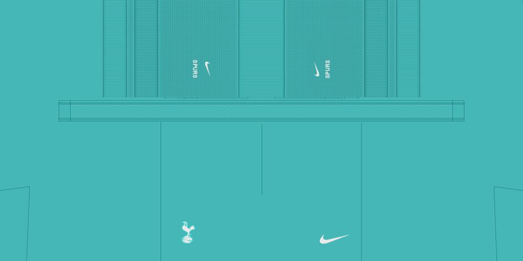 Tottenham Shorts GK 1024x512 Kits Tottenham 2019 2020 RX3 Added
