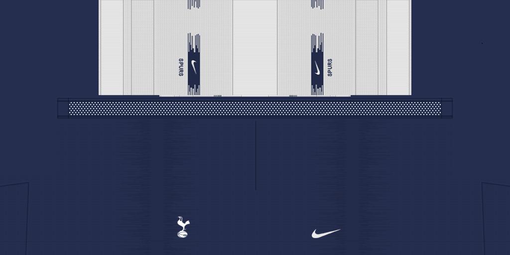 Tottenham Shorts Home 1024x512 Kits Tottenham 2019 2020 RX3 Added