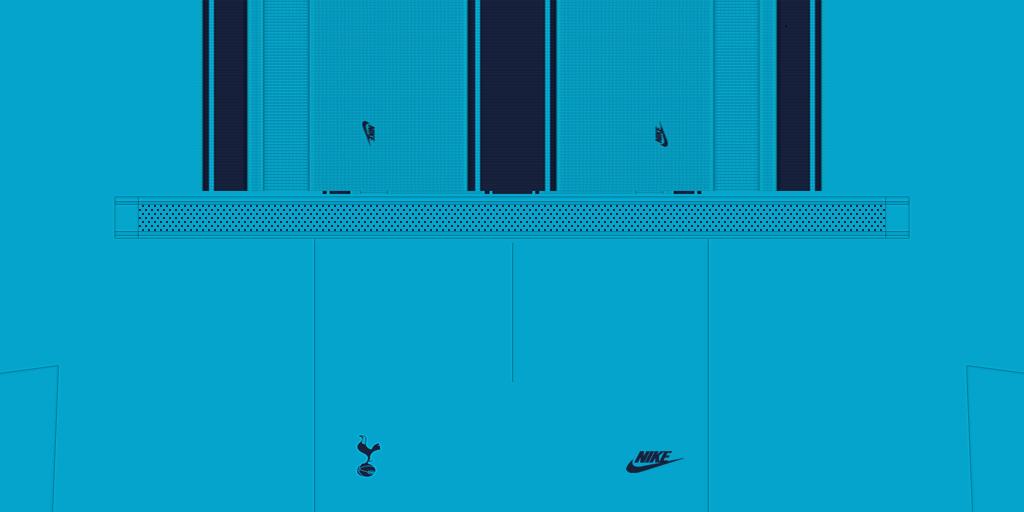 Tottenham Shorts Third 1024x512 Kits Tottenham 2019 2020 RX3 Added