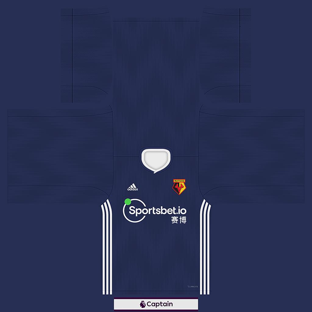 Watford Shirt Away Kits Watford 2019 2020