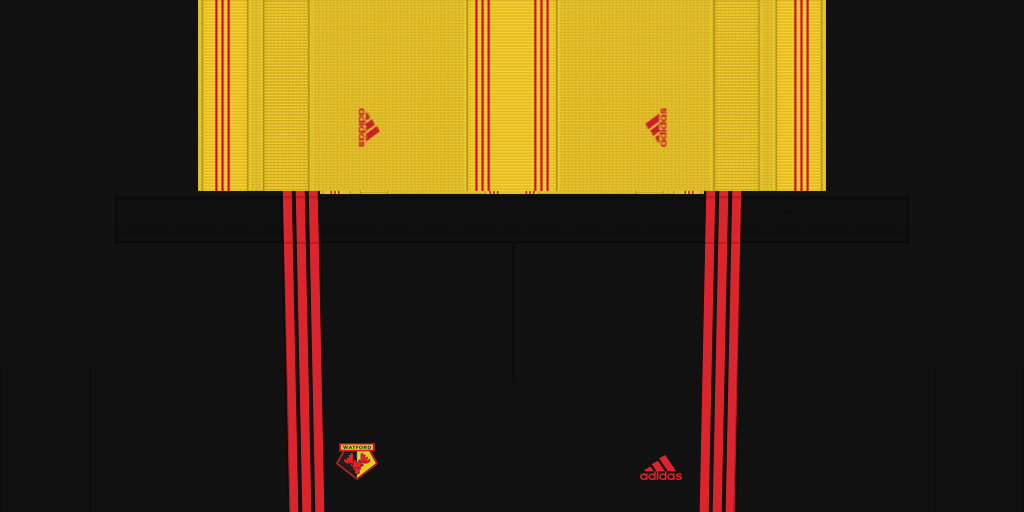 Watford Shorts Home 1024x512 Kits Watford 2019 2020