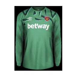 West Ham United Minikit GK Kits West Ham United 2019 2020