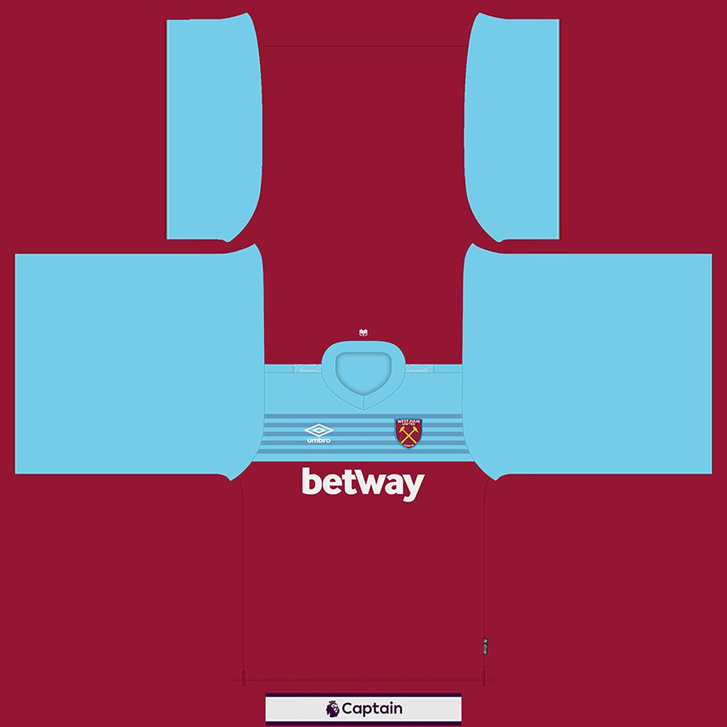 West Ham United Shirt Home Kits West Ham United 2019 2020