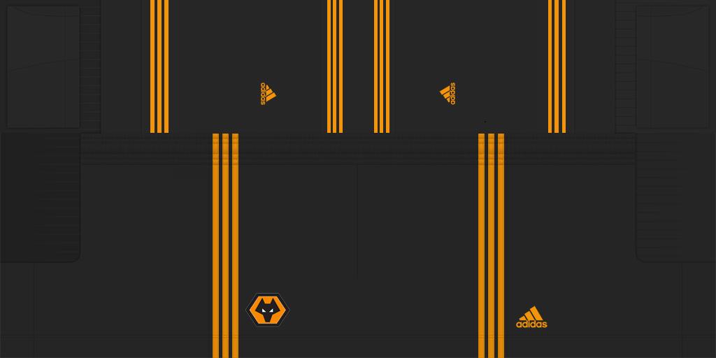 Wolverhampton Away Shorts 1 Kits Wolverhampton 2019 2020 Updated