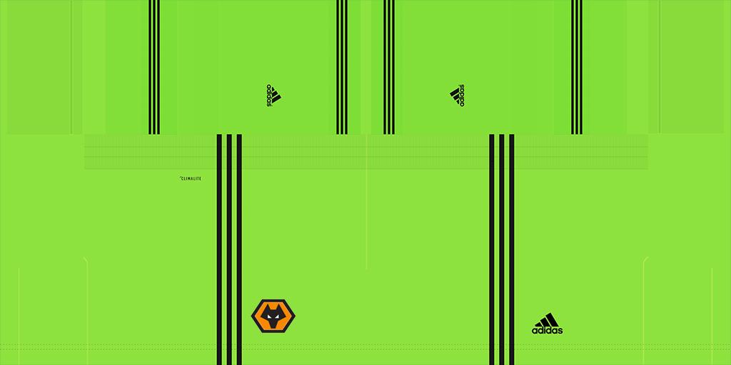 Wolverhampton Goalkeeper 1s 1 Kits Wolverhampton 2019 2020 Updated