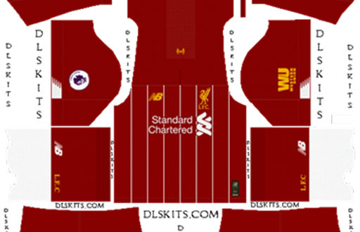 detailed pictures 4d5e0 b4fc8 DLS | Liverpool Kits & Logos | 2019/2020 – FIFAMoro