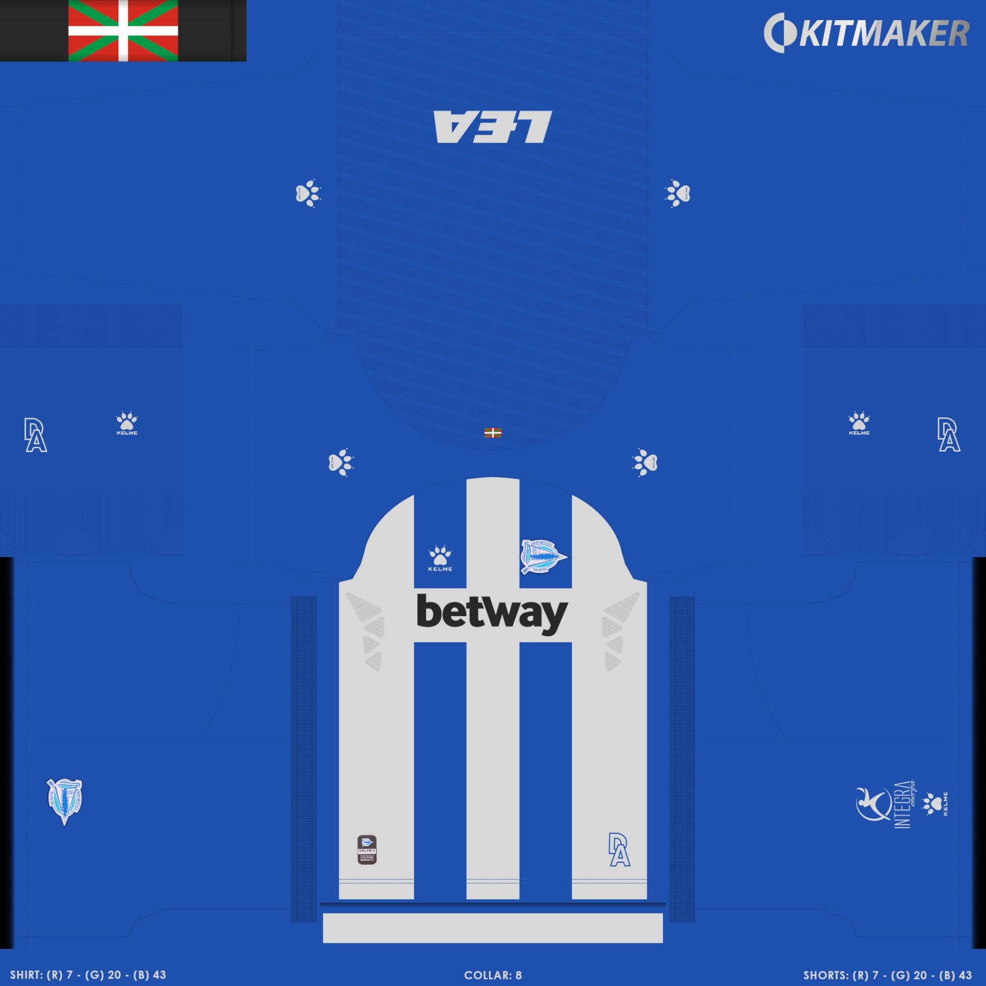 Alav S 1 2000x2000 PES La Liga Kits Pack 2019 2020