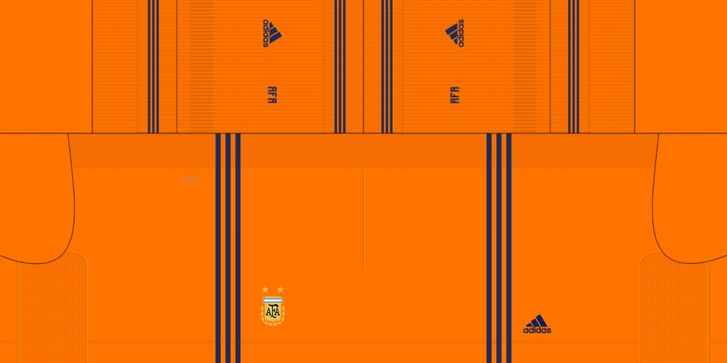 Argentina Home GK Shorts Kits 8211 Argentina 8211 2019