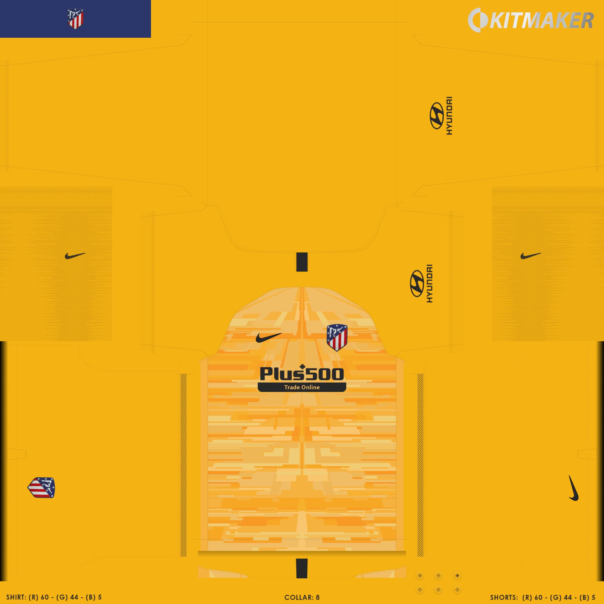 Atl Tico Madrid 3 2000x2000 PES La Liga Kits Pack 2019 2020