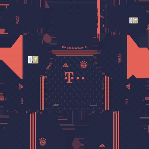 Bayern Munich Kits 2019 E2 80 93 2020 Away Kit 1 DLS Bayern Munich Kits 038 Logos 2019 2020