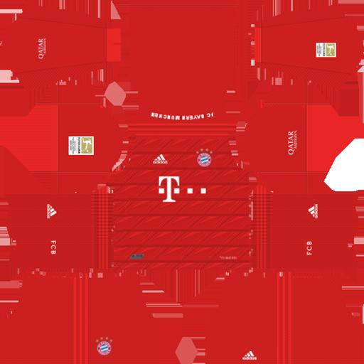 Bayern Munich Kits 2019 E2 80 93 2020 Home Kit 1 DLS Bayern Munich Kits 038 Logos 2019 2020