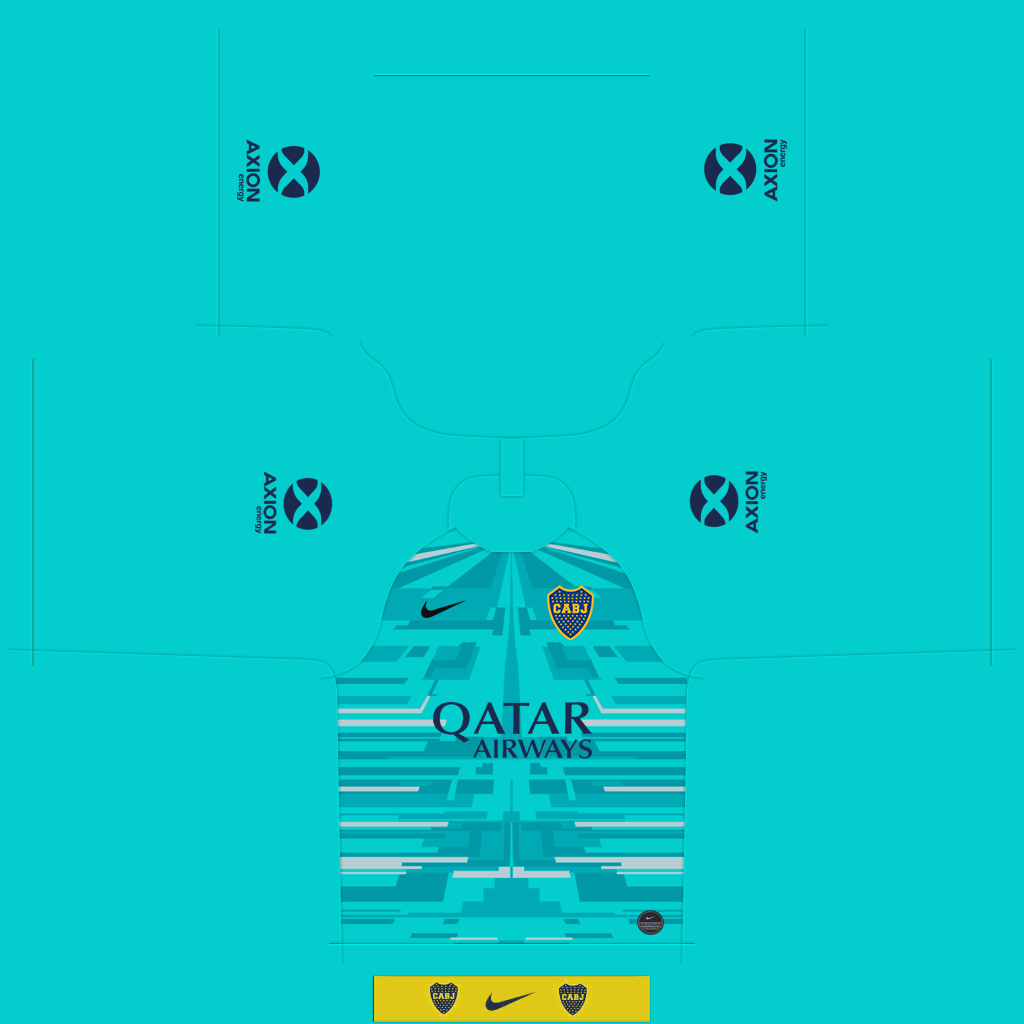 Boca Juniors GK Kit Kits Boca Juniors 2019 2020