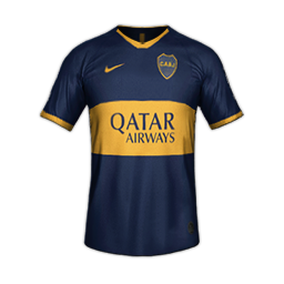 Boca Juniors Home MiniKit Kits Boca Juniors 2019 2020