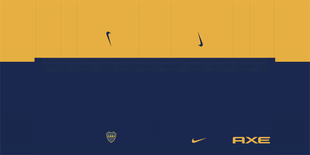 Boca Juniors Home Shorts 2 Kits Boca Juniors 2019 2020