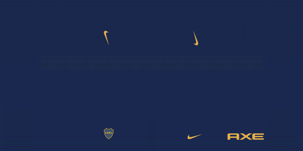 Boca Juniors Home Shorts Kits Boca Juniors 2019 2020