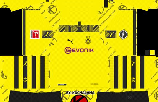 Dls Borussia Dortmund Kits Logos 2019 2020 Dls Kits Fifamoro