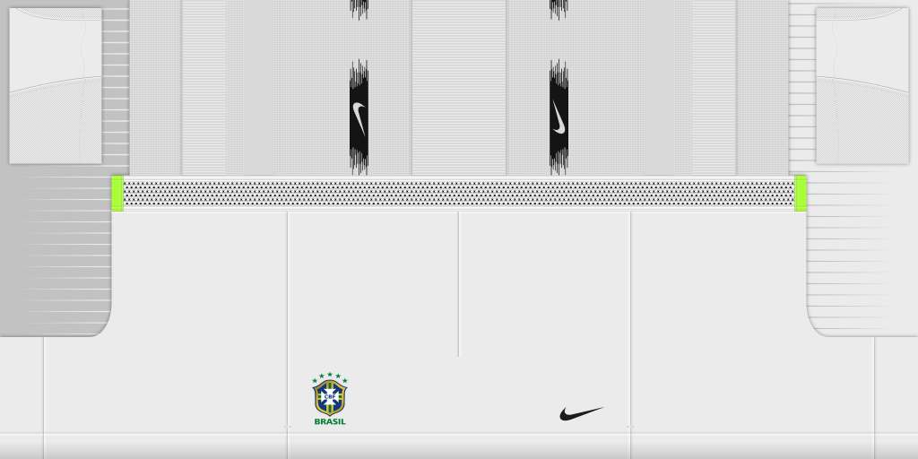 Brazil Away GK Shorts Kits Brazil 2019 2020