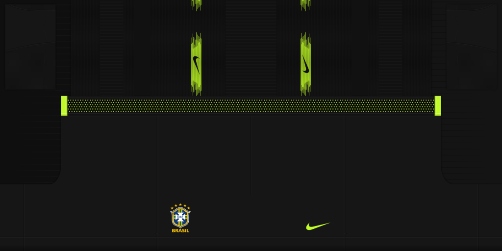 Brazil Home GK Shorts Kits Brazil 2019 2020