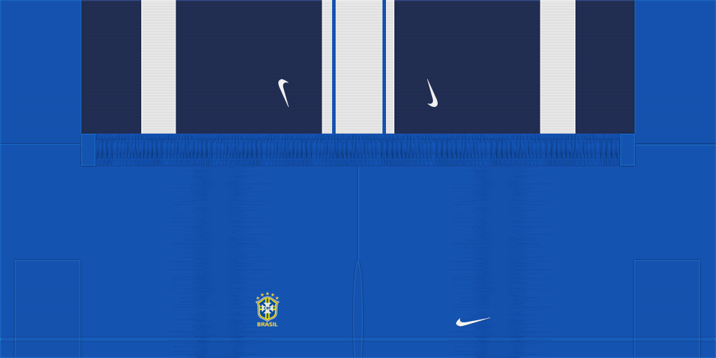 Brazil Home Shorts Kits Brazil 2019 2020