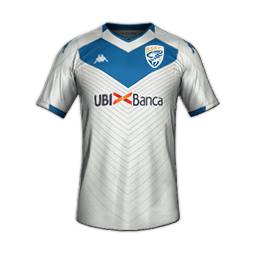 Brescia Away MiniKit 1 Kits Brescia 2019 2020 Updated