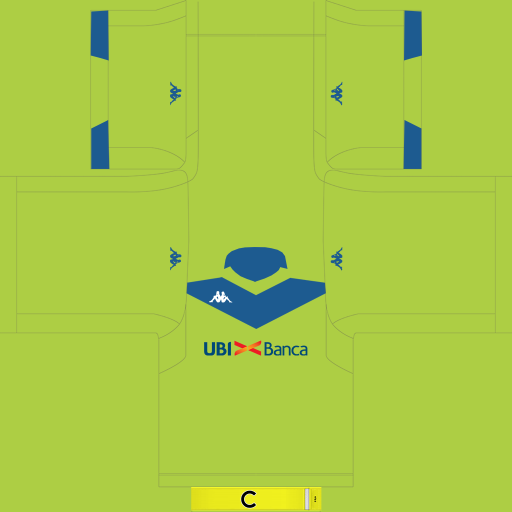 Brescia GK Kit 1 Kits Brescia 2019 2020 Updated